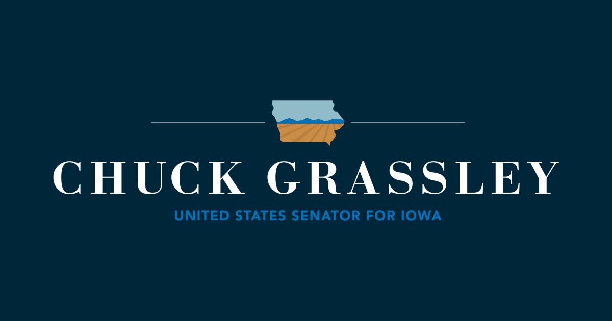 Grassley Refers Planned Parenthood, Fetal Tissue Procurement Organizations to FBI, Justice Dept. for Investigation | U.S. Senator Chuck Grassley of Iowa
